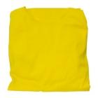 Citromsárga trikó autóüléshuzat vastag pamut anyagú