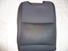 Fekete betétes trikó autóüleshuzat vastag vászon anyag