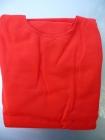 Piros trikó autóüléshuzat vastag pamut anyagú