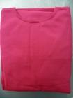 Sötétpink-rózsaszin trikó autóüleshuzat vastag pamut anyag