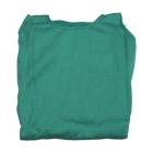 Zöld trikó autóüléshuzat vastag pamut anyagú